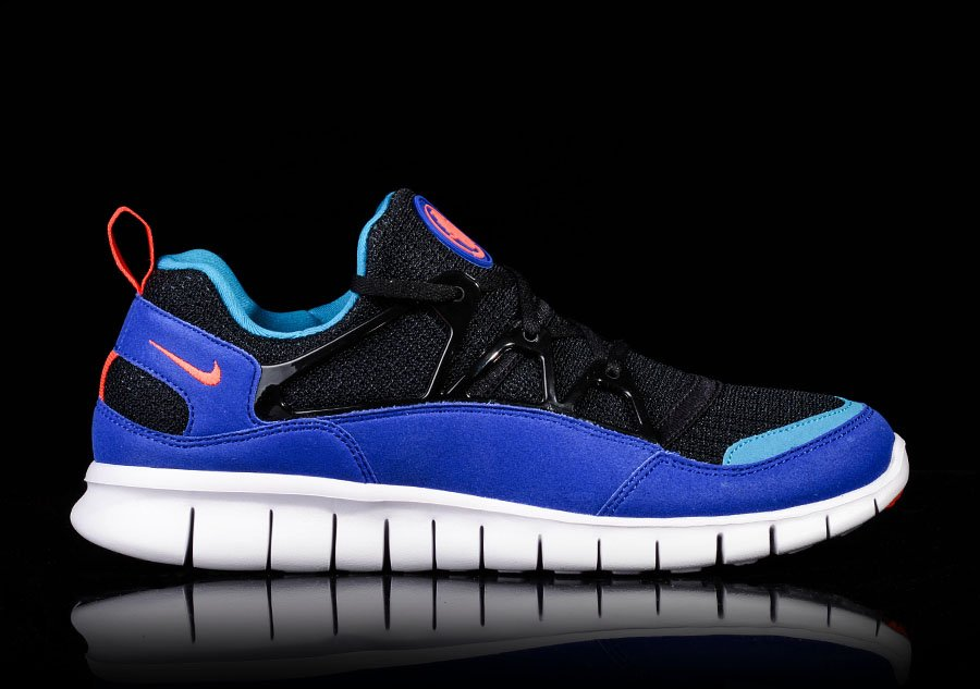 NIKE FREE HUARACHE LIGHT BLACK TEAM ORANGE CONCORD