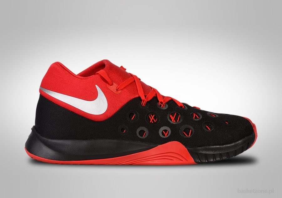 13e6cb637d62 NIKE ZOOM HYPERQUICKNESS 2015 BLACK FIRE RED price €77.50 ...