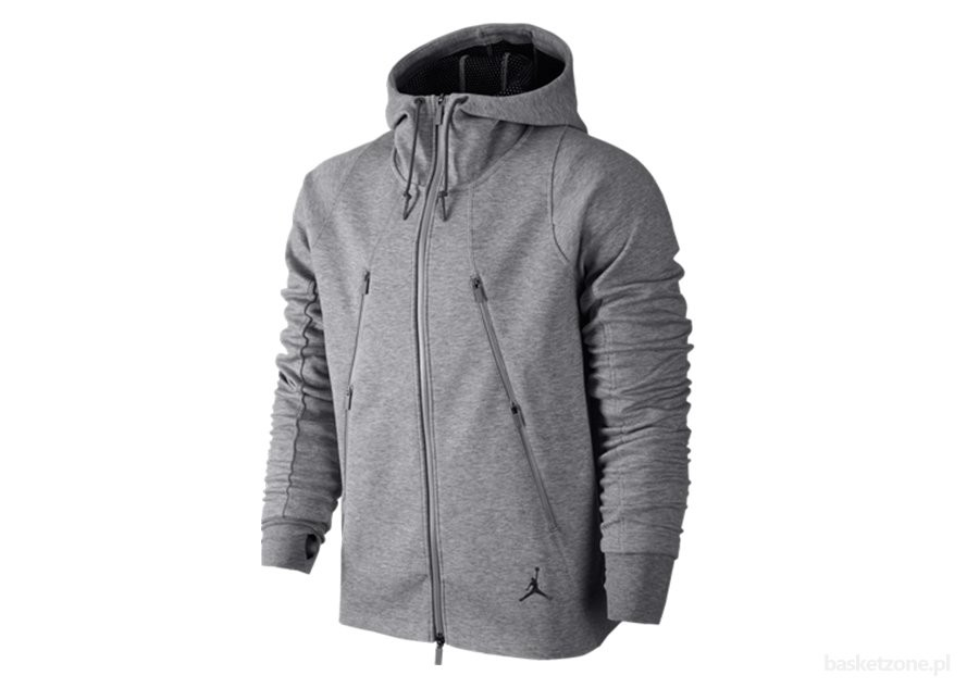 5b2ae64f549ce6 NIKE AIR JORDAN FLEECE HOODY COOL GREY price €122.50